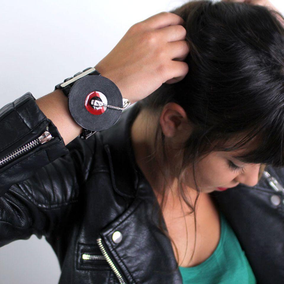 Bracelet Taraboum Argent Rouge Taratata Bijoux Fantaisie en ligne 3
