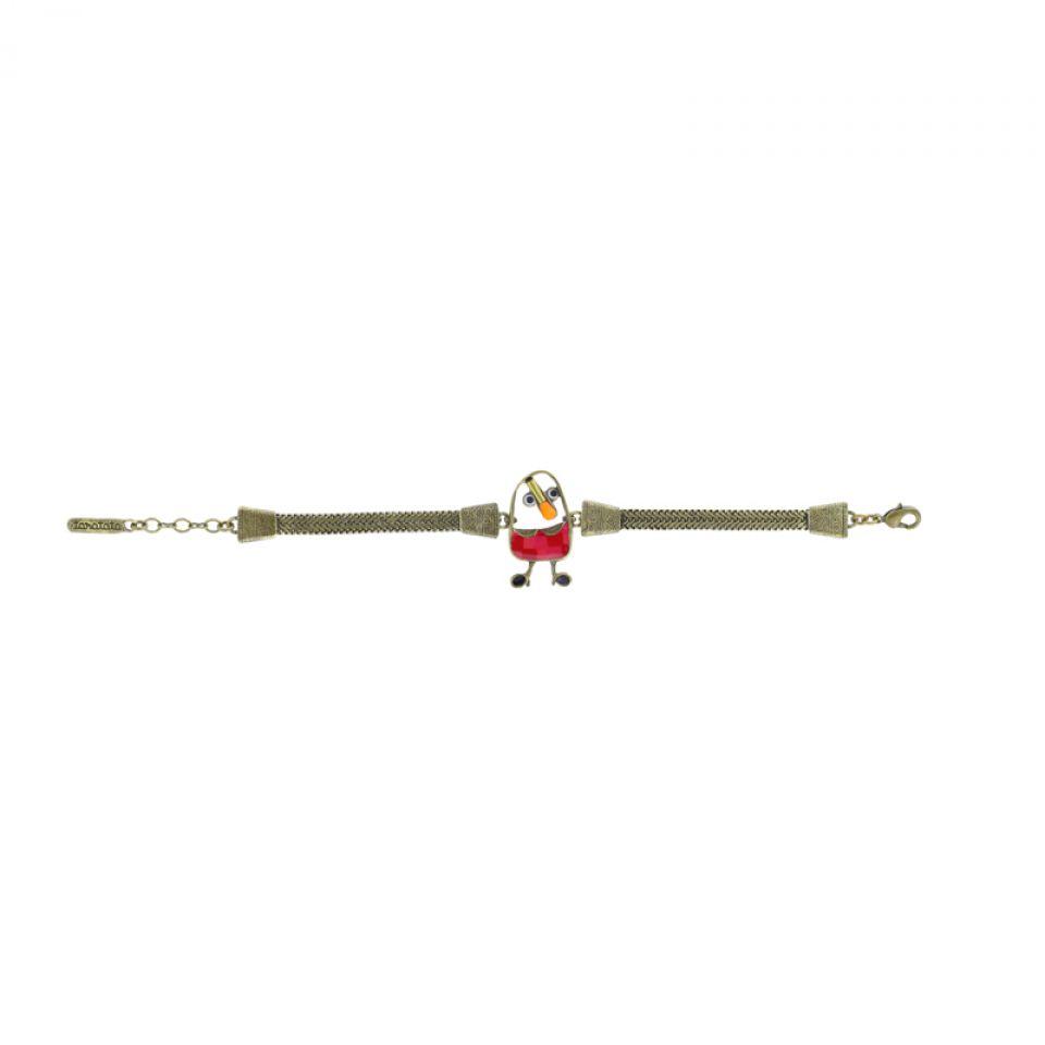Bracelet Taraboum Bronze Rouge Taratata Bijoux Fantaisie en ligne 3