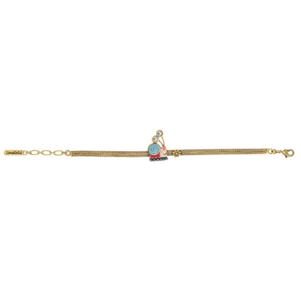 Bracelet Il Pleut Bronze Bleu Taratata Bijoux Fantaisie en ligne 3