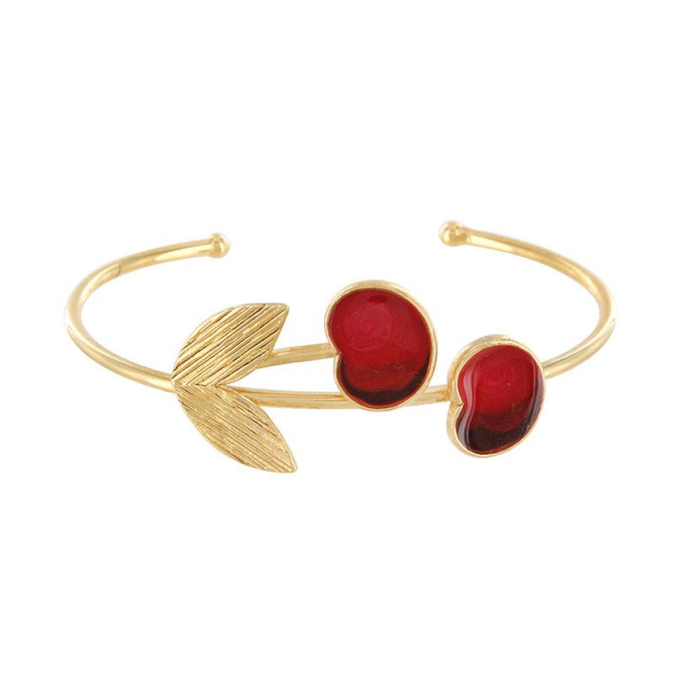 Bracelet Cherie Dore Rouge Taratata Bijoux Fantaisie en ligne 1