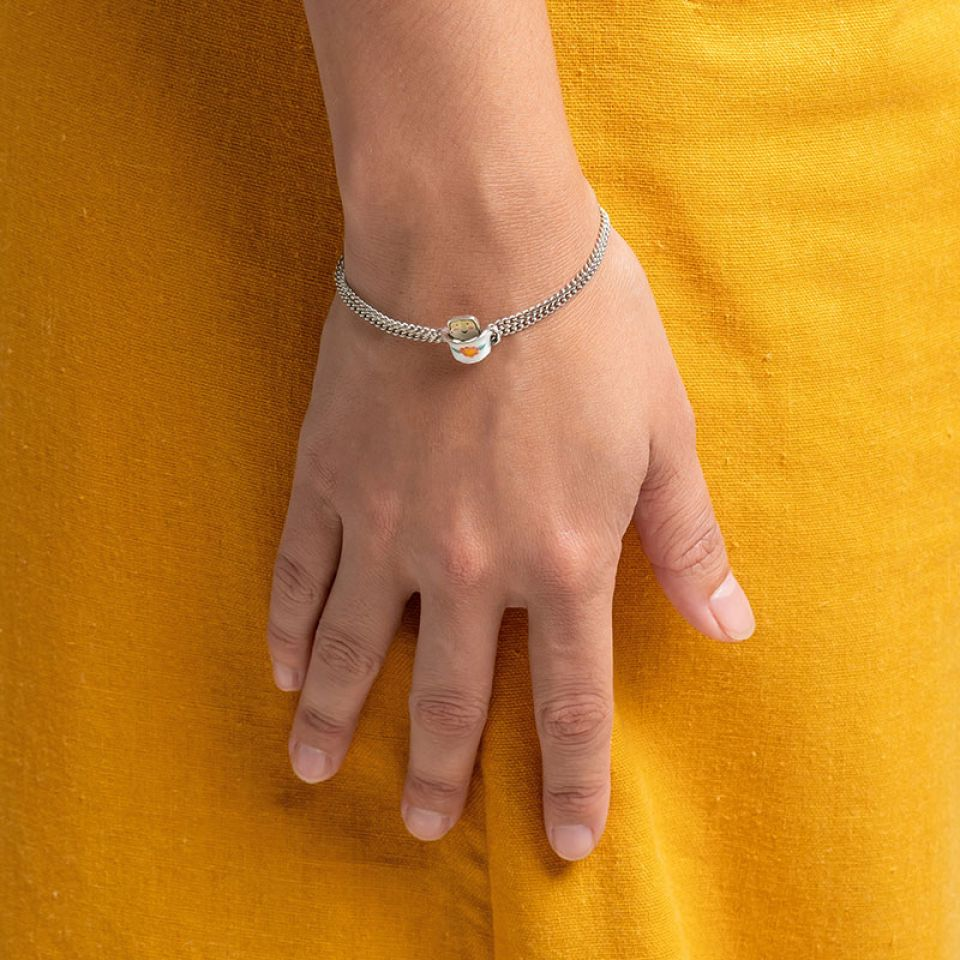 Bracelet Bonjour Argente Multi Taratata Bijoux Fantaisie en ligne 2