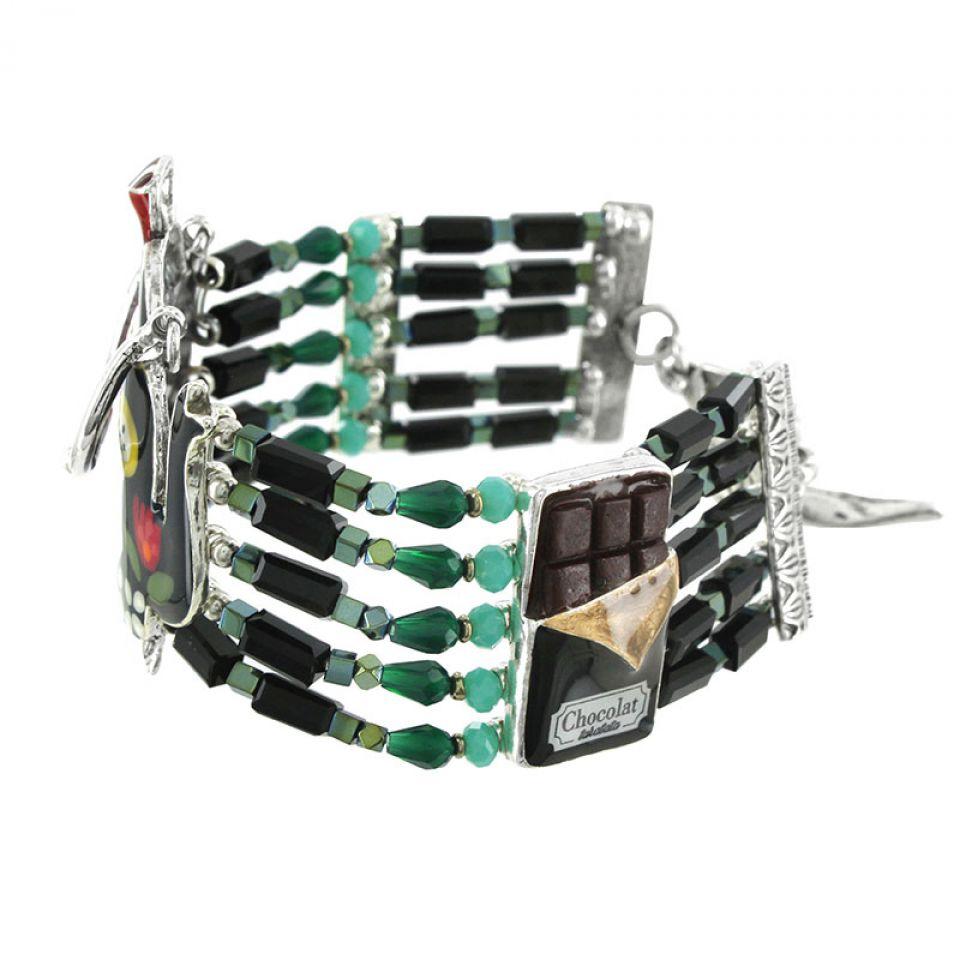 Bracelet Tea For Two Argent Multi Taratata Bijoux Fantaisie en ligne 5