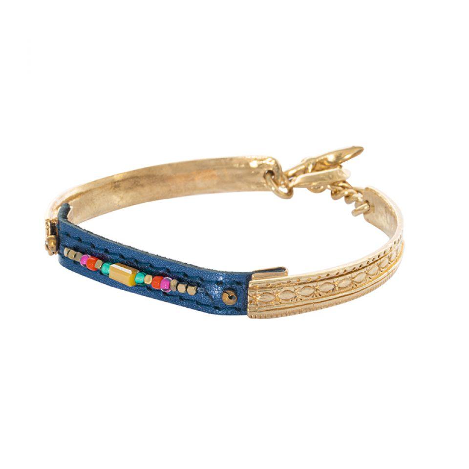 Bracelet Terre De Feu Dore Multi Taratata Bijoux Fantaisie en ligne 1