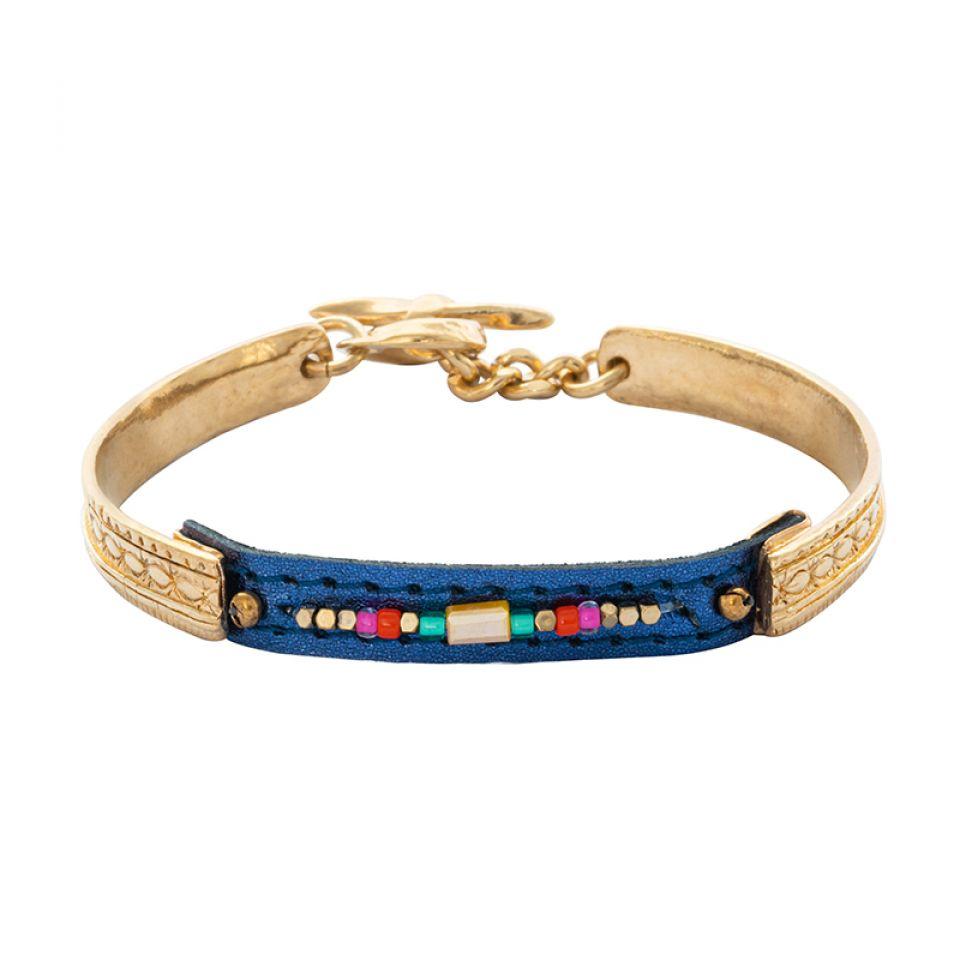 Bracelet Terre De Feu Dore Multi Taratata Bijoux Fantaisie en ligne 3