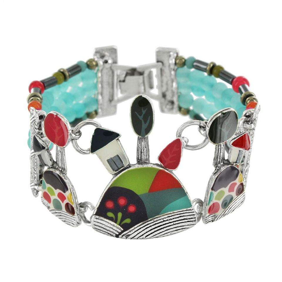 Bracelet Week-end Argent Multi Taratata Bijoux Fantaisie en ligne 3
