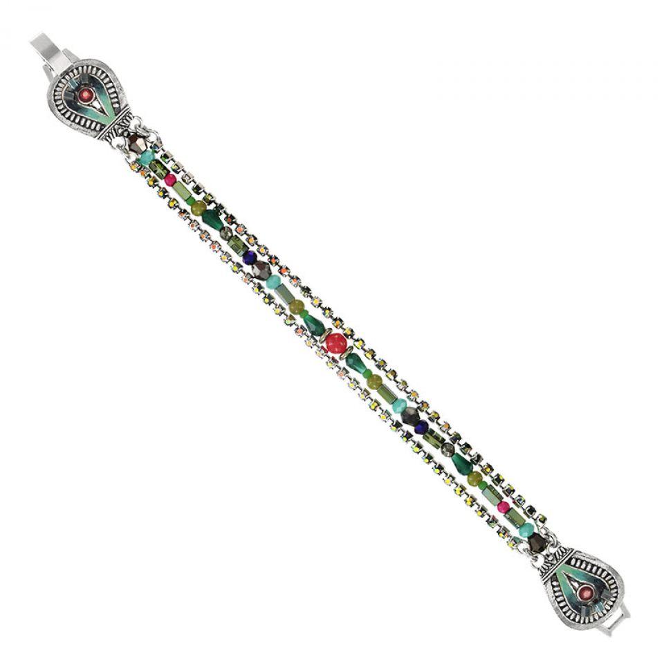 Bracelet Zamba Argent Multi Taratata Bijoux Fantaisie en ligne 1