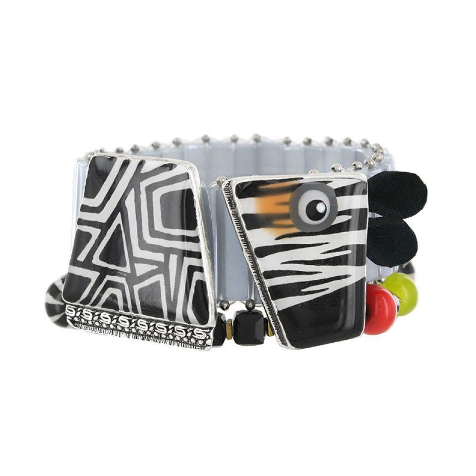 Bracelet Zanzibar Argent Multi Taratata Bijoux Fantaisie en ligne 1