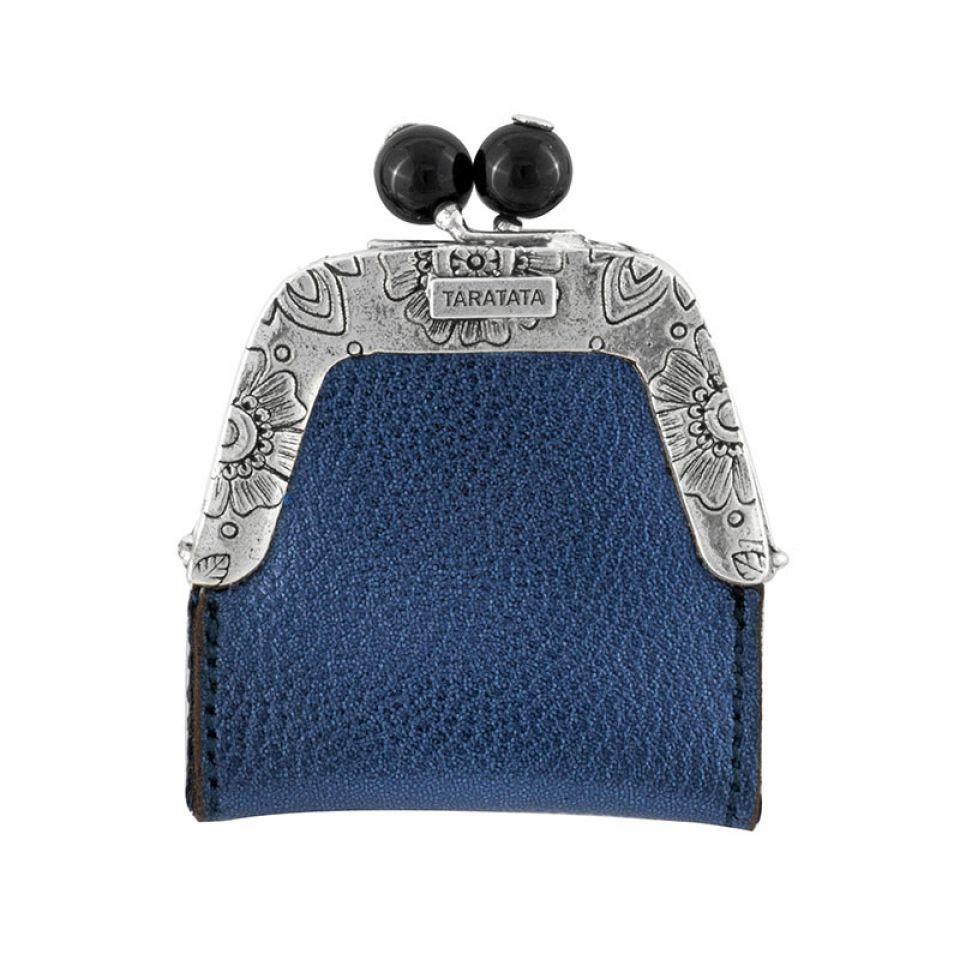 Broche Grisbi Couleur Argent Bleu Taratata Bijoux Fantaisie en ligne 1
