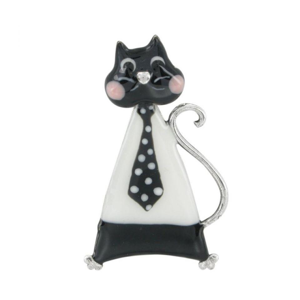 Broche Smart Cat Noir Taratata Bijoux Fantaisie en ligne 1