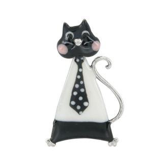 Broche Smart Cat Noir