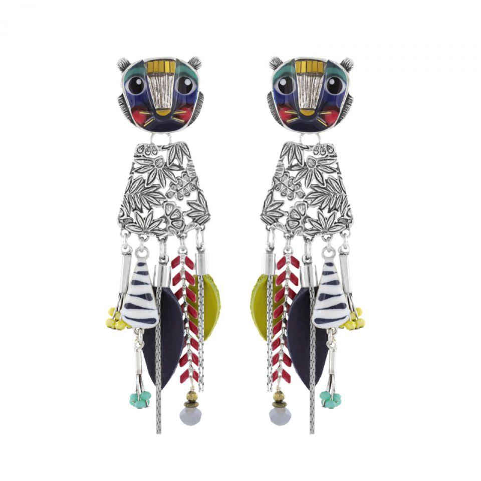 Clips Bengale Argent Multi Taratata Bijoux Fantaisie en ligne 1