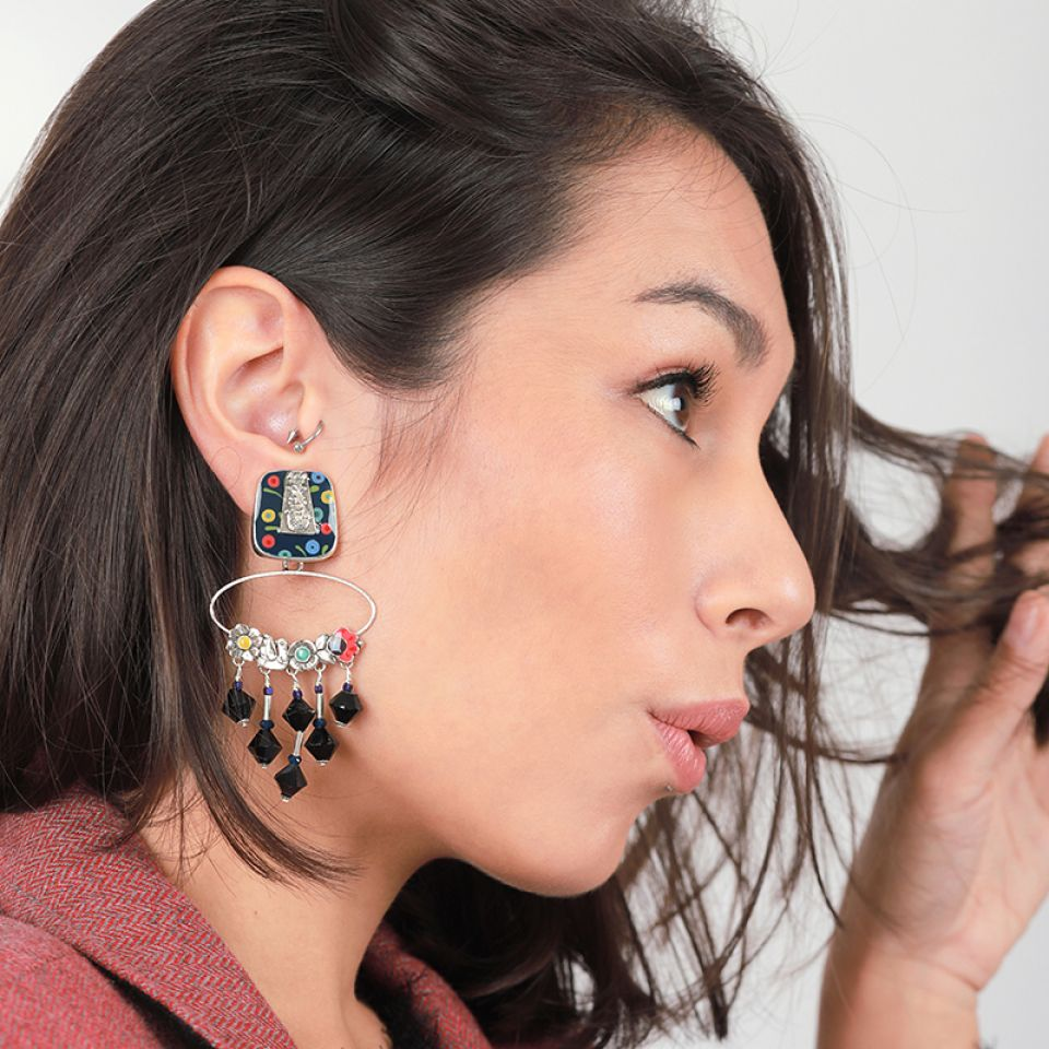 Clips Rive Gauche Argent Multi Taratata Bijoux Fantaisie en ligne 1