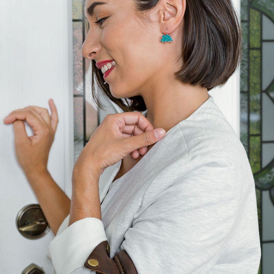 Dormeuses Week-end Argent Multi Taratata Bijoux Fantaisie en ligne 2