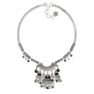 Collier Bergamote Argent Multi
