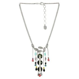 Collier Charme Argent Multi
