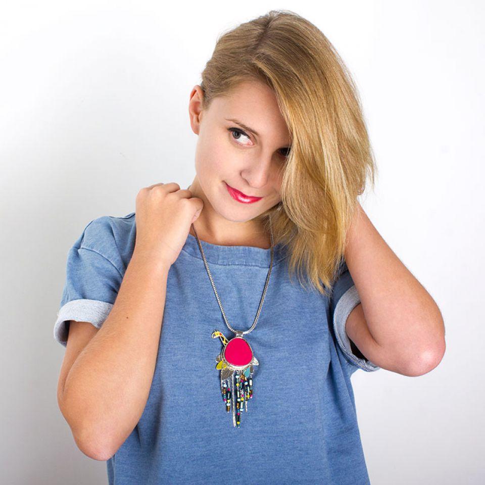 Collier Chloe Argent Multi Taratata Bijoux Fantaisie en ligne 2