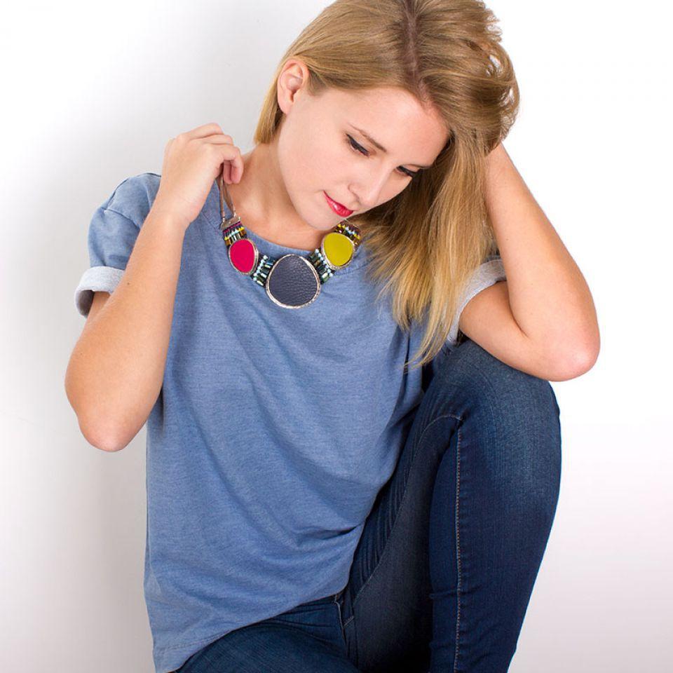 Collier Chloe Argent Multi Taratata Bijoux Fantaisie en ligne 1
