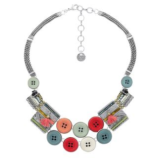 Collier Cousu-main Argent Multi