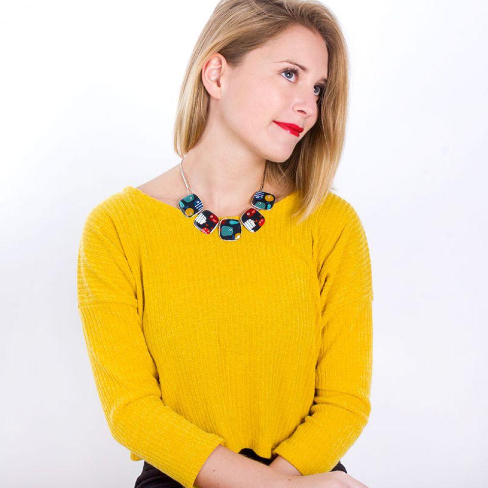 Collier Dandinette Argent Multi Taratata Bijoux Fantaisie en ligne 2