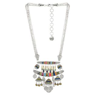 Collier Darling Argent Multi