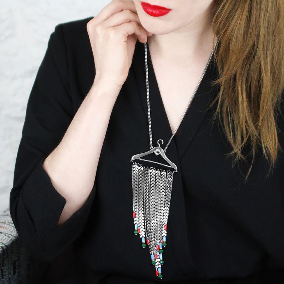 Collier Dressing Argent Multi Taratata Bijoux Fantaisie en ligne 2