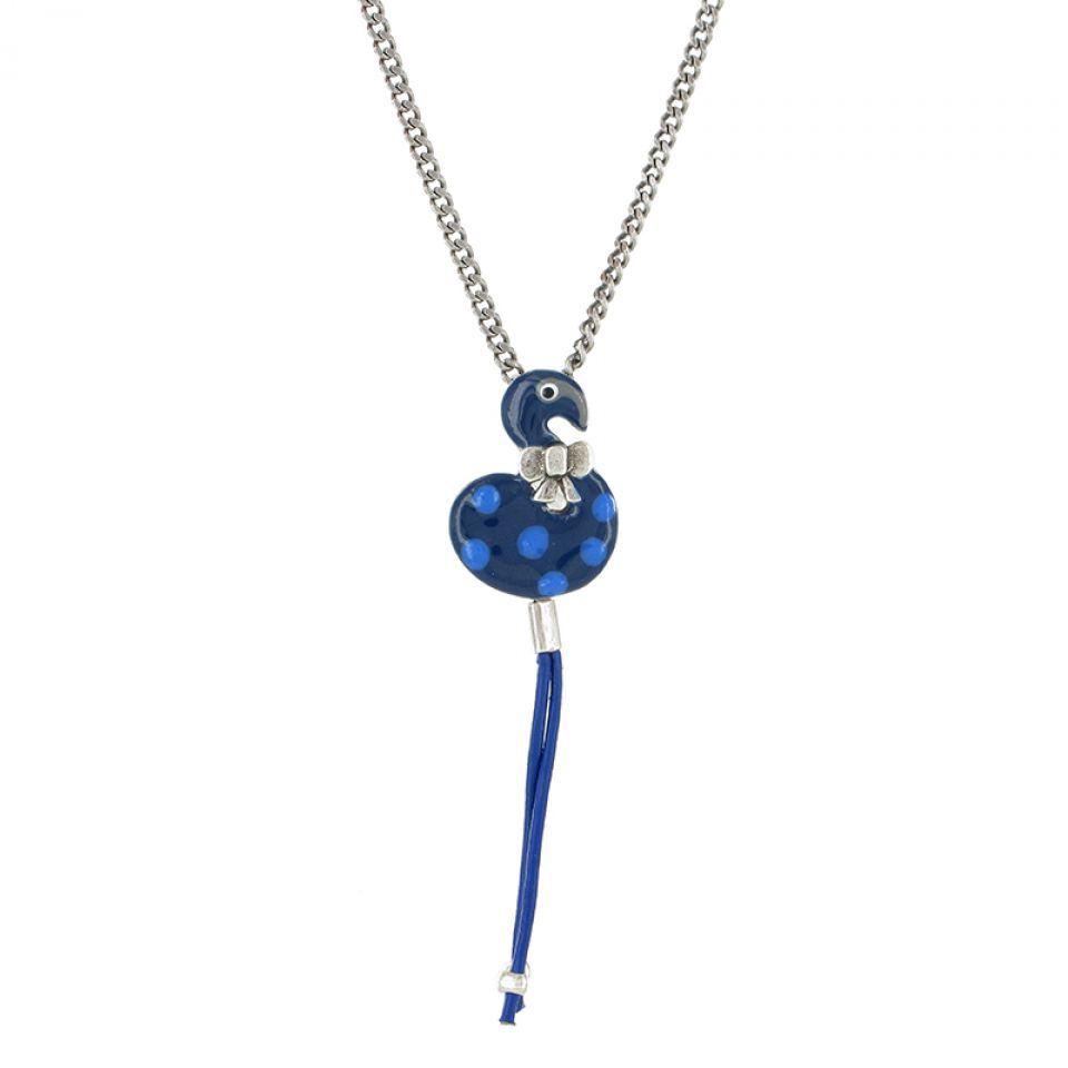 Collier Tarachou Bleu Taratata Bijoux Fantaisie en ligne 1