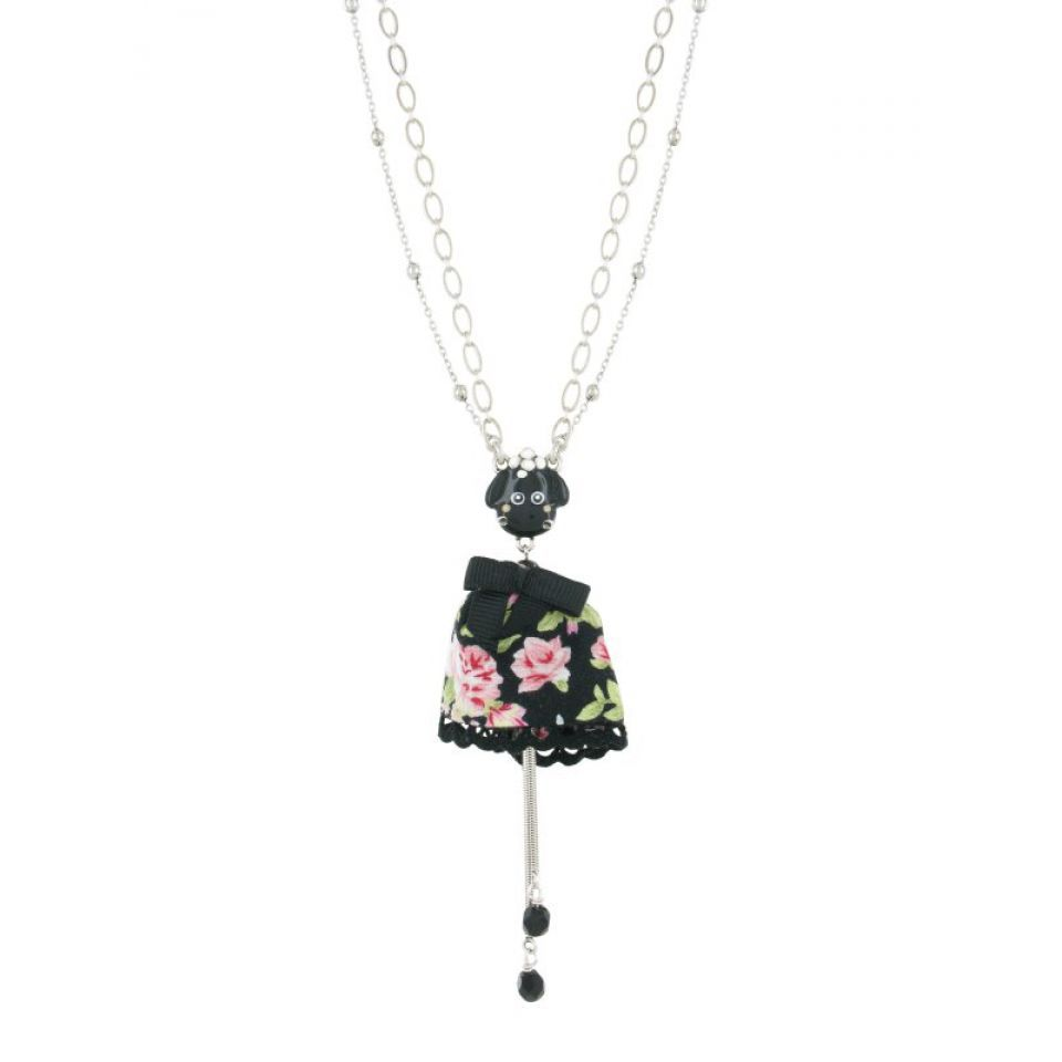 Collier Tarachou Fleur Taratata Bijoux Fantaisie en ligne 1