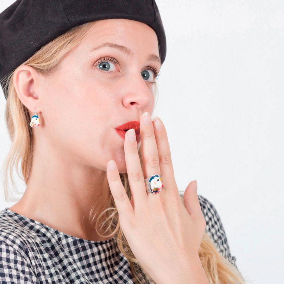 Bague Amoureuse Argent Multi Taratata Bijoux Fantaisie en ligne 2