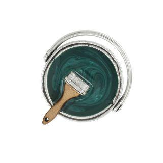 Bague Archi-chic Argent Vert