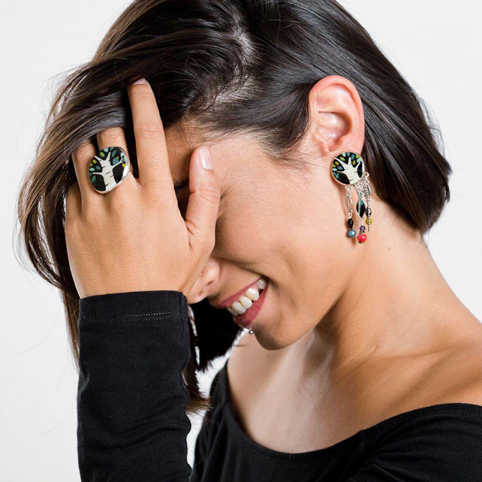 Bague Charme Argent Multi Taratata Bijoux Fantaisie en ligne 2