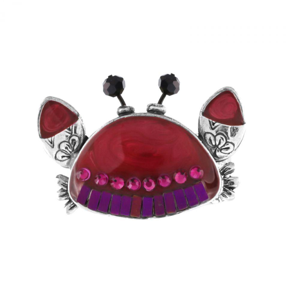 Bague Corail Argent Rouge Taratata Bijoux Fantaisie en ligne 1