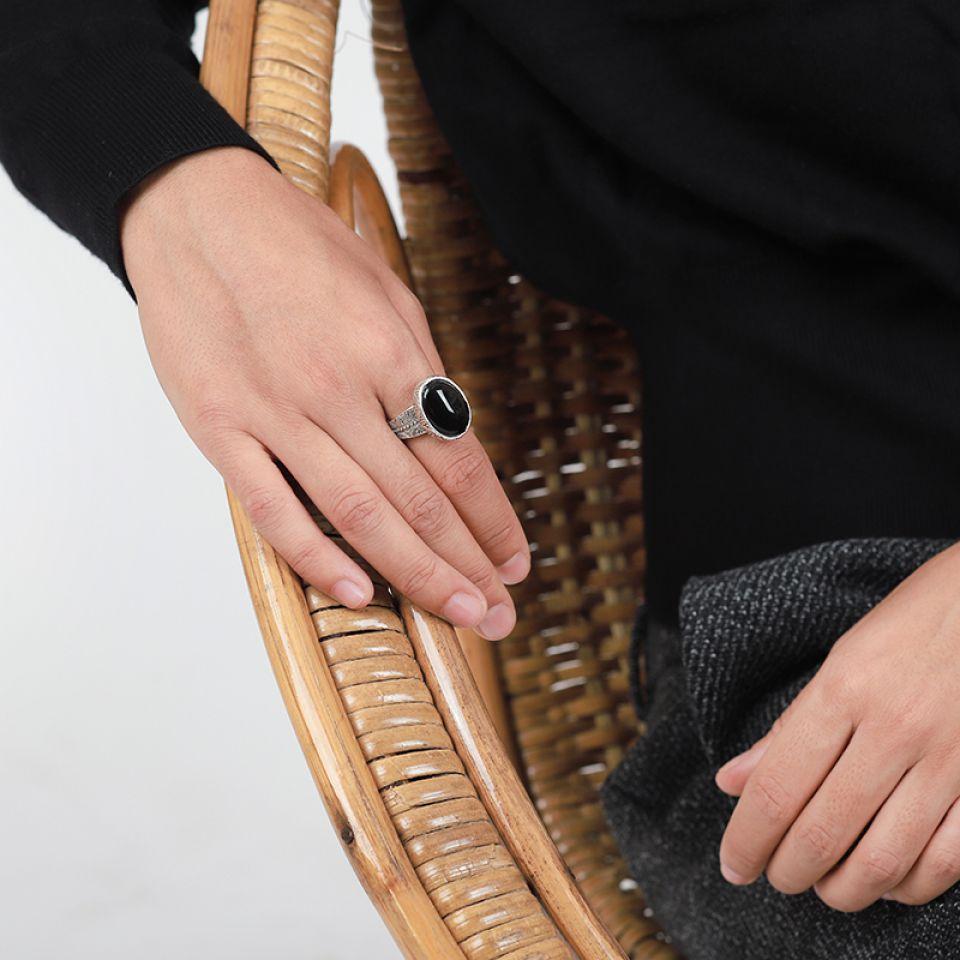Bague Equivoque Argent Noir Taratata Bijoux Fantaisie en ligne 3