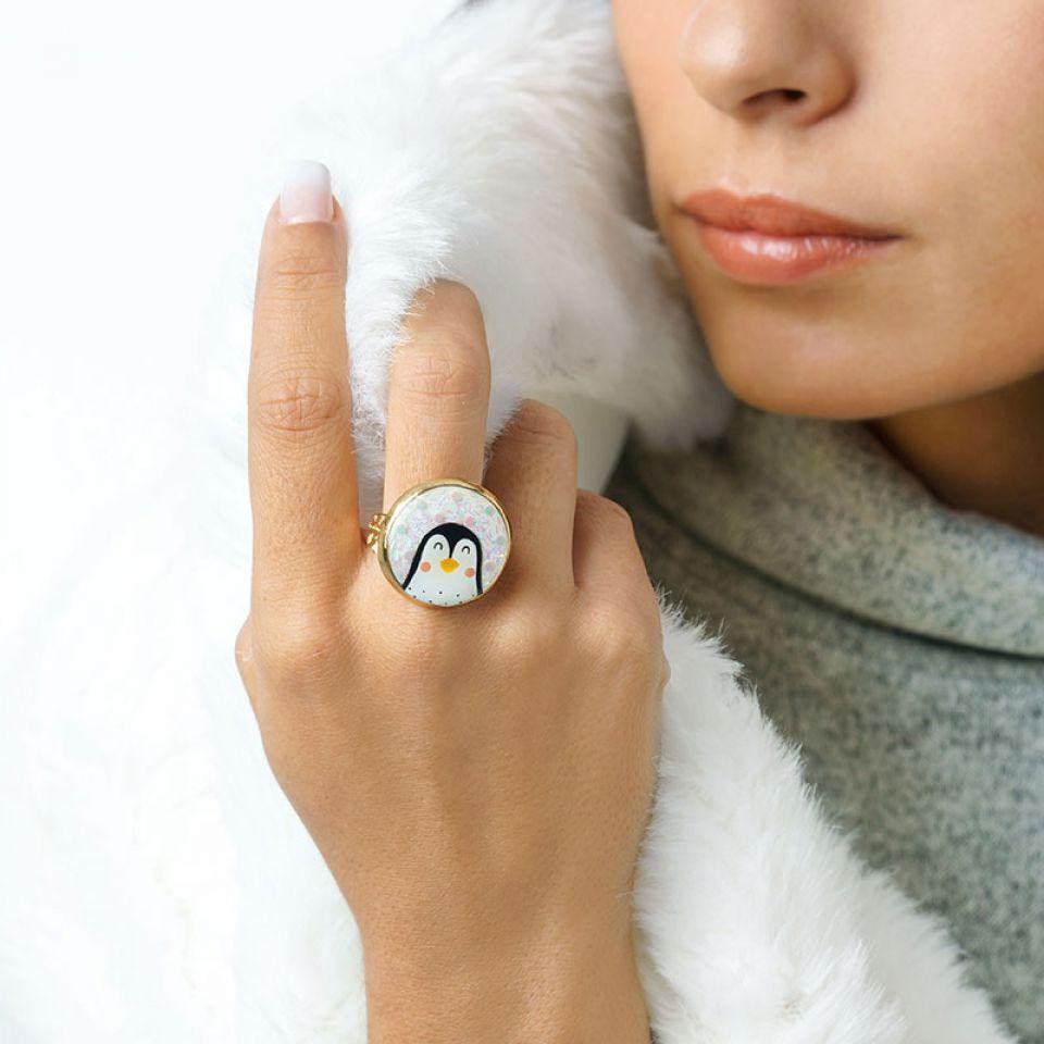 Bague Frisquet Couleur Or Blanc Taratata Bijoux Fantaisie en ligne 2