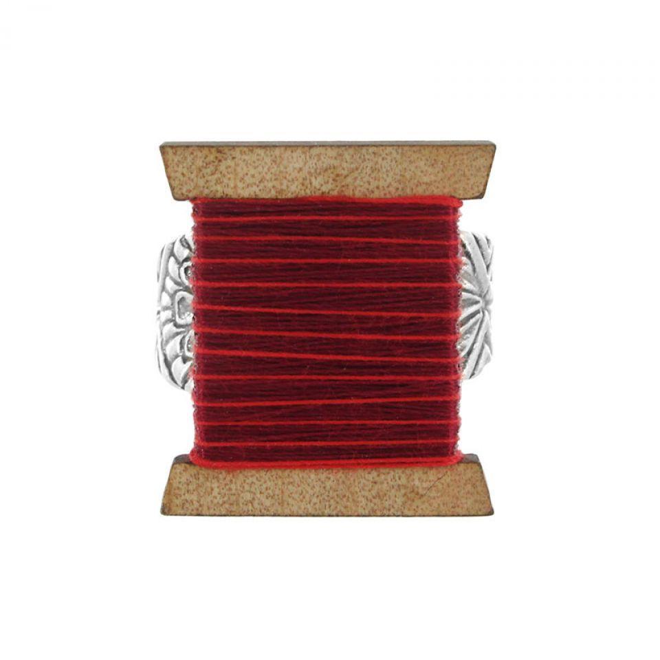 Bague La Boutonniere Argent Rouge Taratata Bijoux Fantaisie en ligne 2