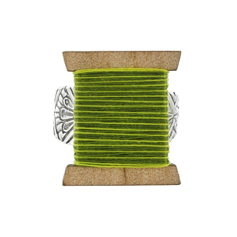 Bague La Boutonniere Argent Vert Taratata Bijoux Fantaisie en ligne 1