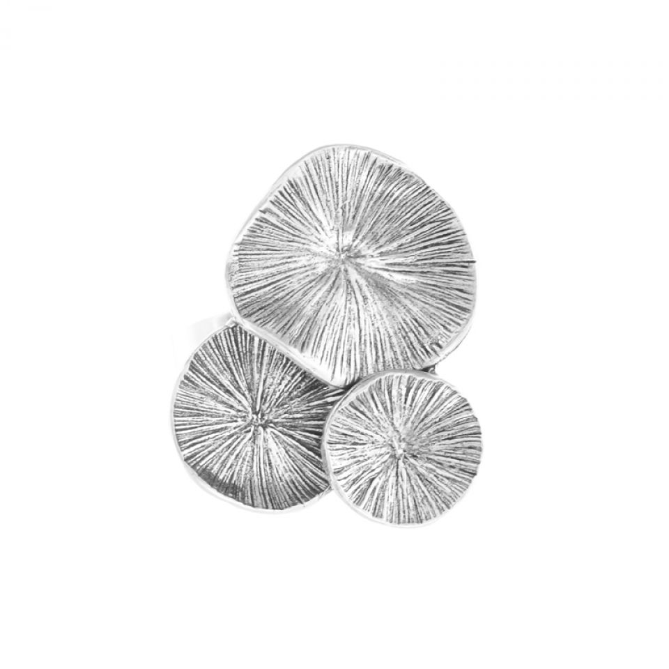Bague Lotus Argent Taratata Bijoux Fantaisie en ligne 3