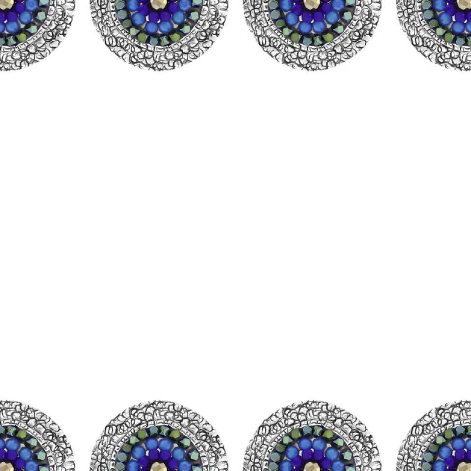 Bague Montmartre Argent Bleu Taratata Bijoux Fantaisie en ligne 5