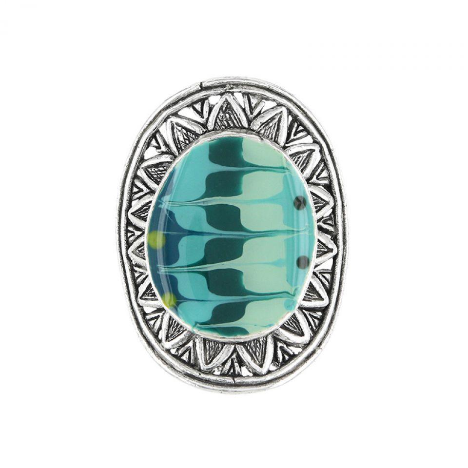 Bague Outre-mer Argent Bleu Taratata Bijoux Fantaisie en ligne 2