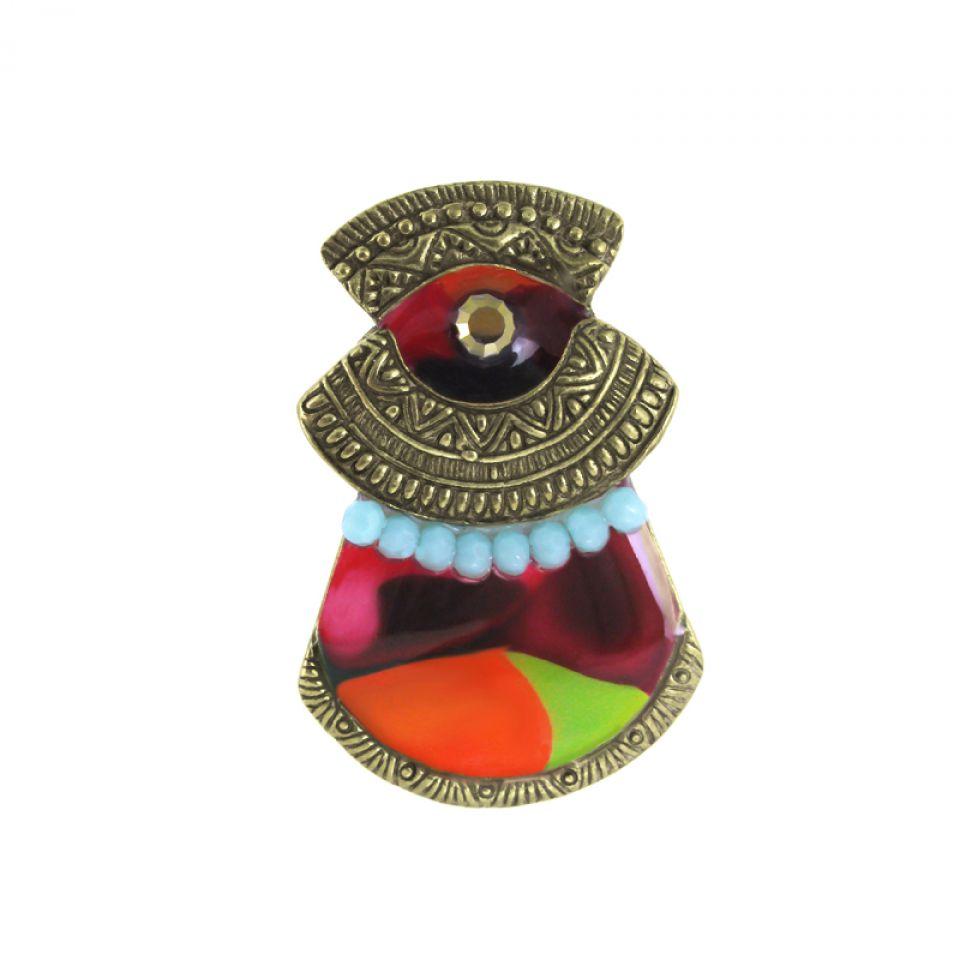 Bague Pablo Bronze Multi Taratata Bijoux Fantaisie en ligne 1