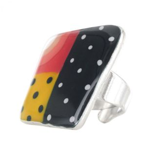 Bague Pop-art Multi