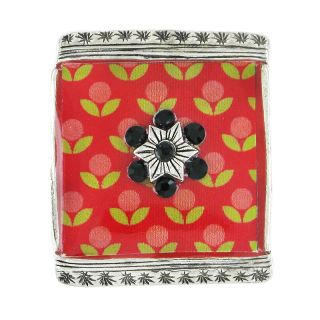 Bague Septieme Art Rouge