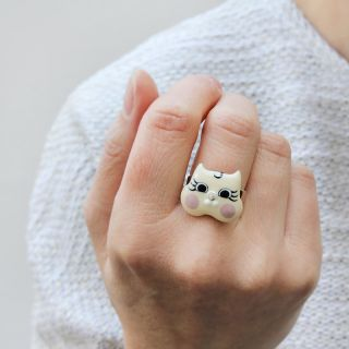 Bague Smart Cat Ivoire