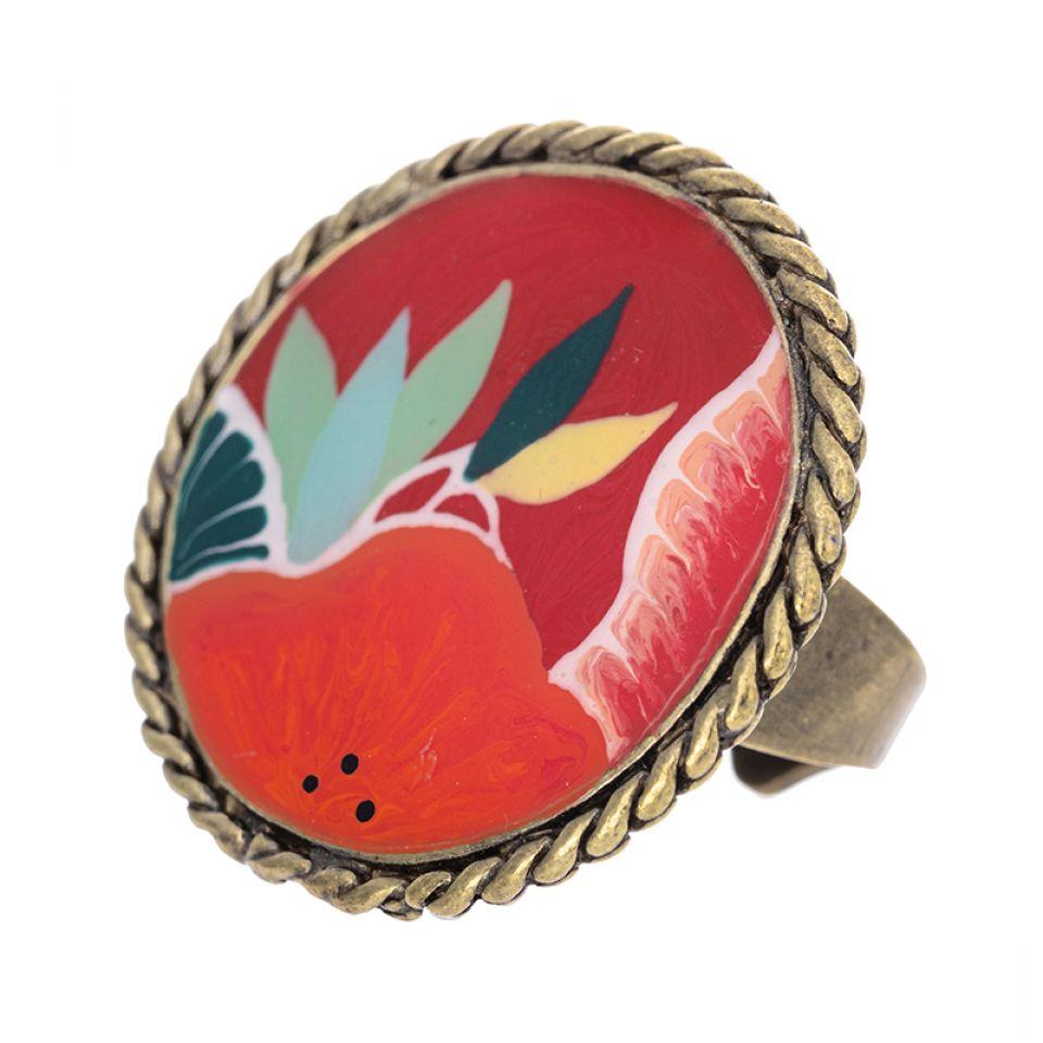 Bague Sombrero Bronze Multi Taratata Bijoux Fantaisie en ligne 1