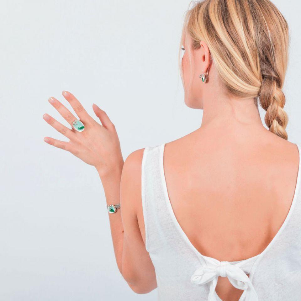 Bague Taraboum Argent Multi Taratata Bijoux Fantaisie en ligne 2