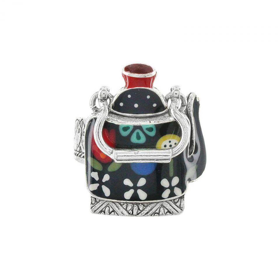 Bague Tea For Two Argent Multi Taratata Bijoux Fantaisie en ligne 1