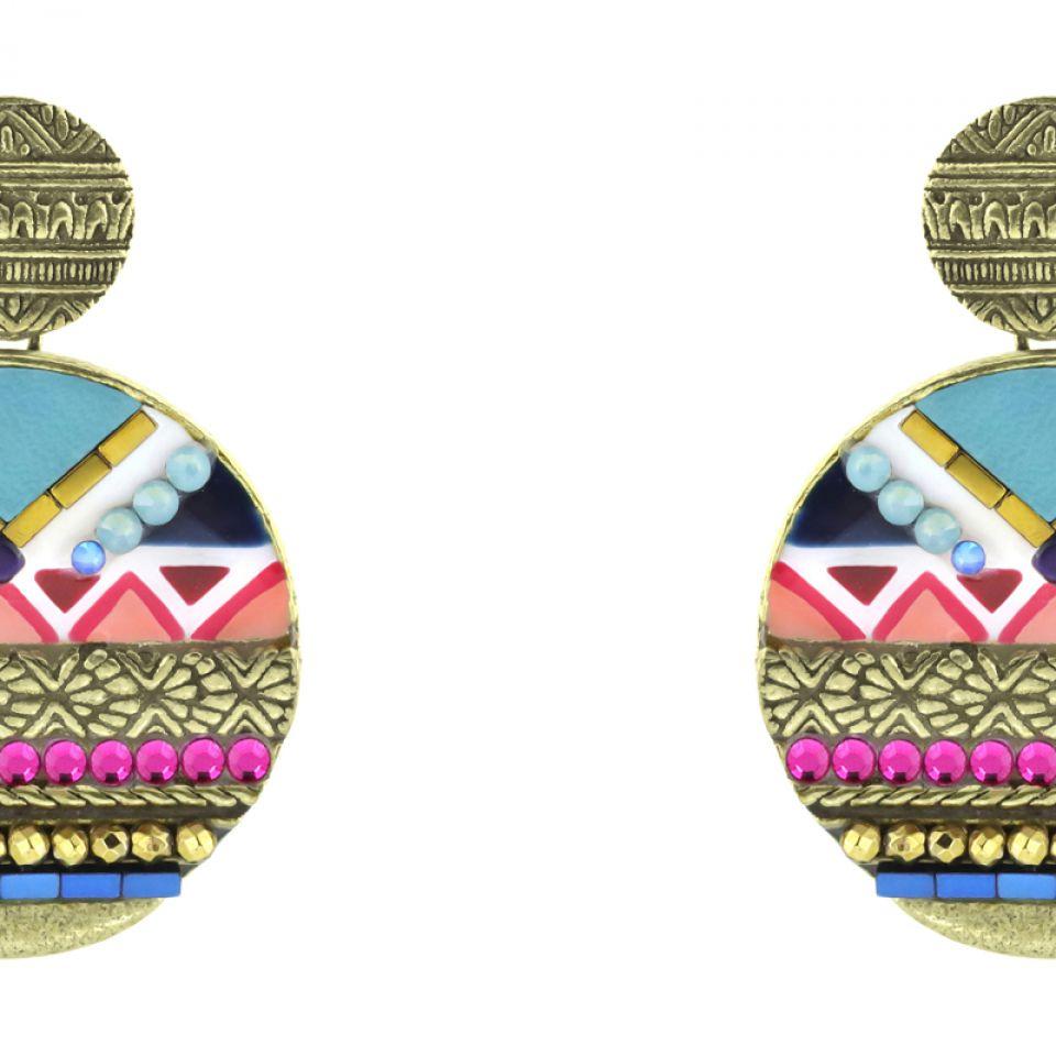 Puces Seduction Bronze Multi Taratata Bijoux Fantaisie en ligne 3