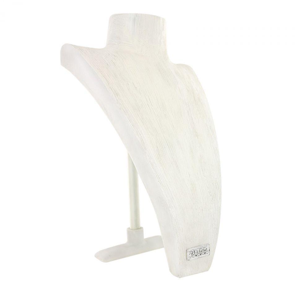 Buste En Resine Blanc Grand Modele 30cm Taratata Bijoux Fantaisie en ligne 2